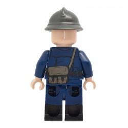 United Bricks - WW2 Vichy French Franc-Garde Militiaman Minifigure