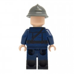 United Bricks - WW2 Vichy French Franc-Garde Officer Minifigure