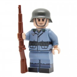 United Bricks - WW2 Luftwaffe Field Division Soldier Minifigure