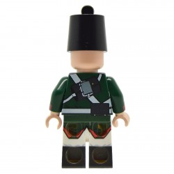 Lego United Bricks - Soldat Russe Napoléonien (1803-1808) Minifigure