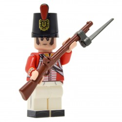 United Bricks - Napoleonic Peninsular War British Minifigure