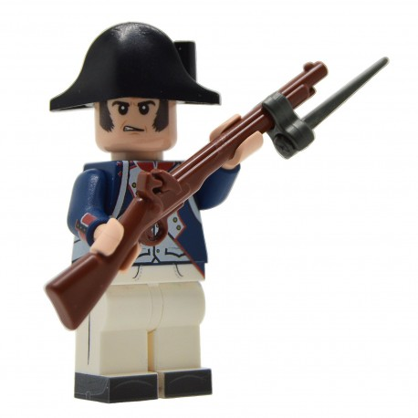 United Bricks - Napoleonic French Fusilier (1799-1807) Minifigure