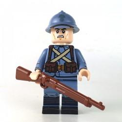 WW1 Soldat Français Armée Francaise Minifigure Custom