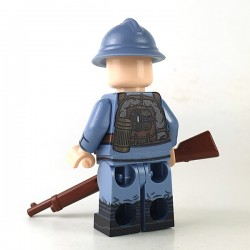 WW1 French Infantry Minifigure Custom
