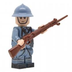 United Bricks - WW1 French Soldier (Mid-Late War) Minifigure