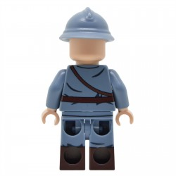 LEGO United Bricks - WW1 French Officer (Mid-Late War) Minifigure
