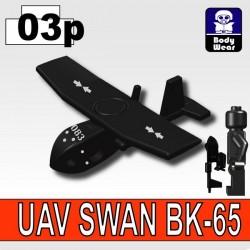 Si-Dan Toys - UAV SWAN (Soft Wing Aerial Navigator) 083 (Black)