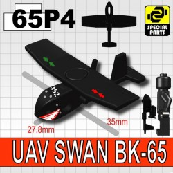 Si-Dan Toys - UAV SWAN (Soft Wing Aerial Navigator) 352 (Black)