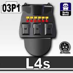 Si-Dan Toys - Tactical Vest L4s P1 (Black)