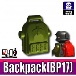 Si-Dan Toys - Sac à dos BP17 (Vert Militaire)