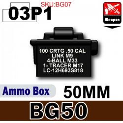 Si-Dan Toys - Boite de Munitions (BG50) Noir 03P1