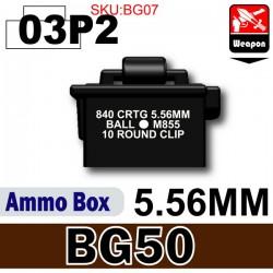 Si-Dan Toys - Boite de Munitions (BG50) Noir 03P2