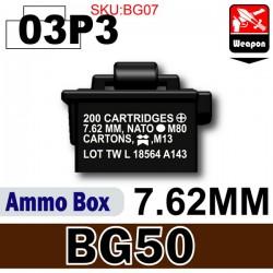Si-Dan Toys - Boite de Munitions (BG50) Noir 03P3