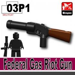 Si-Dan Toys - Federal Gas Riot Gun-P1 (Noir)
