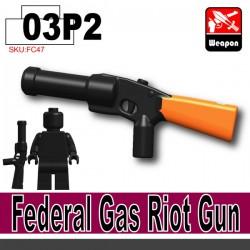Si-Dan Toys - Federal Gas Riot Gun-P2 (Noir)