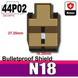 Si-Dan Toys - Bulletproof Shield N18 (Dark Tan P02)