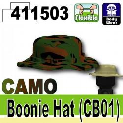 """Si-Dan Toys - Chapeau """"Boonie"""" Camouflage Jungle (Vert foncé)"""