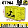 Si-Dan Toys - Container Biohazard (Yellow)