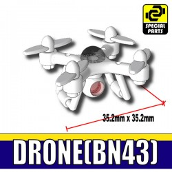 Si-Dan Toys - Drone BN43 Blanc