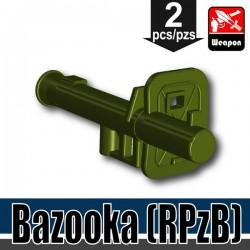 Si-Dan Toys - Bazooka (Vert Militaire)