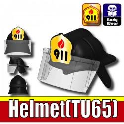 Si-Dan Toys - Casque Pompier 911 - 18 (Noir)