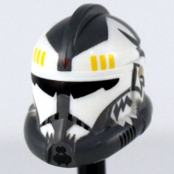 Clone Army Customs - Recon Commander Wolffe Dark Gray Helmet