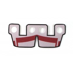 Clone Army Customs- Waistcape Light Gray w/ Dark Red ARC