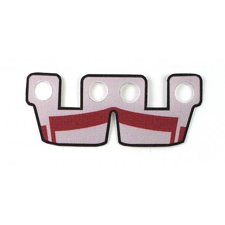 Clone Army Customs- Waistcape ARC Gris et Rouge foncé