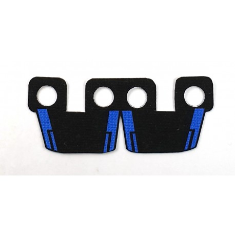 Clone Army Customs- Waistcape Black, Blue hound