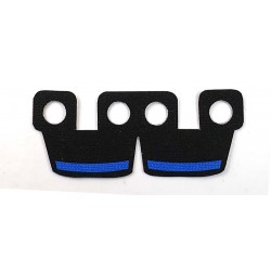 Clone Army Customs- Waistcape Noir, Barre bleu