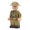 United Bricks - WW2 British Army Officer (Mid-late war) Minifigure Lego