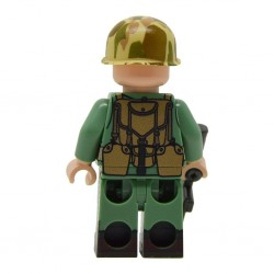 United Bricks - WW2 Sous-officier Marine Américain Minifigure