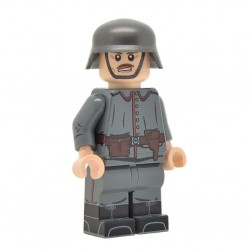 Lego United Bricks - WW1 Officier Allemand Minifigure