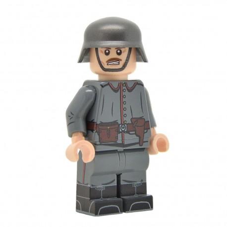 Lego United Bricks - WW1 Officier Allemand Minifigure