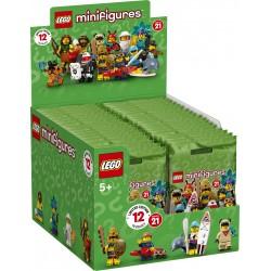 LEGO® 71029 - Boite complète de 36 sachets - Série 21
