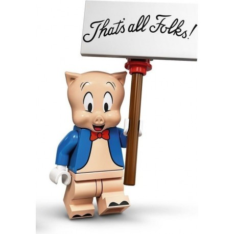LEGO® Minifig Looney Tunes Series - Porky Pig - 71030