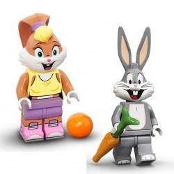 LEGO® Série Looney Tunes - Bugs & Lola Bunny Minifig - 71030