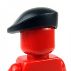 Black Minifig, Headgear Beret