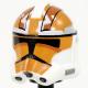 Clone Army Customs - RP2 Vaughn (earth orange) Helmet
