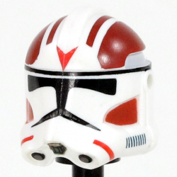 Clone Army Customs - RP2 Dark Red Rocket Helmet