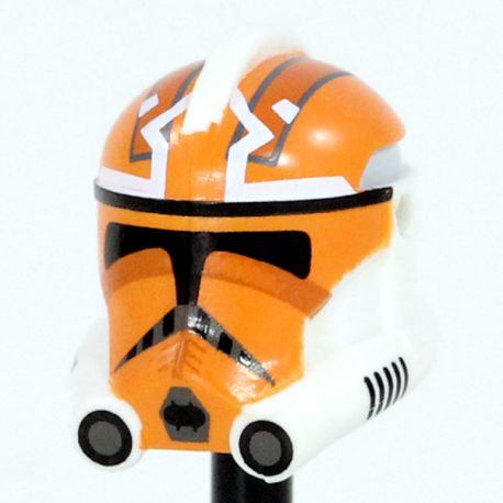 Clone Army Customs - Casque Phase 2 332nd Vaughn Orange