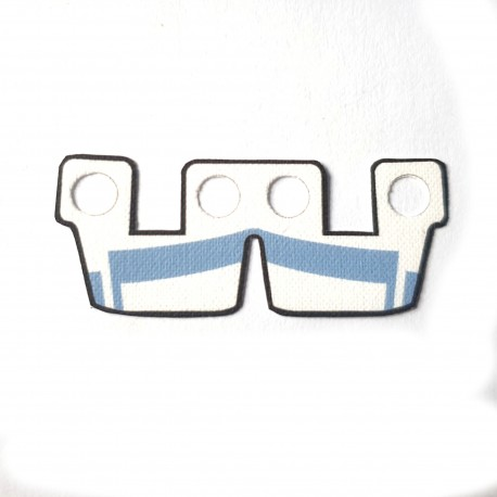 Clone Army Customs - Waistcape White w Sand Blue ARC