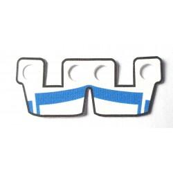 Clone Army Customs - Waistcape White w Blue ARC