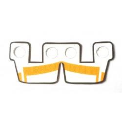 Clone Army Customs - Waistcape White w Orange ARC