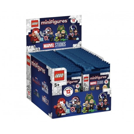 LEGO® 71031 - Boite complète de 36 sachets - Minifig Série Marvel Studios