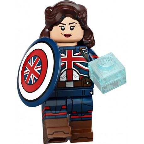 LEGO® Minifig Marvel Studios Series - Captain Carter - 71031