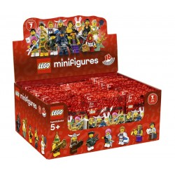 LEGO Minifigures 8831 - Boite complète de 60 sachets - Série 7 (La Petite Brique)