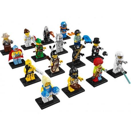 Serie 1 - 16 minifigurines - 8683
