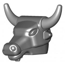 Minotaur Head (silver)