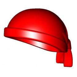 Bandana tête rouge